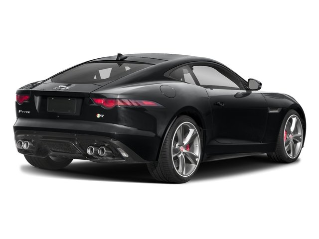 2018 Jaguar F-TYPE Base Price Coupe Auto R-Dynamic Pricing side rear view