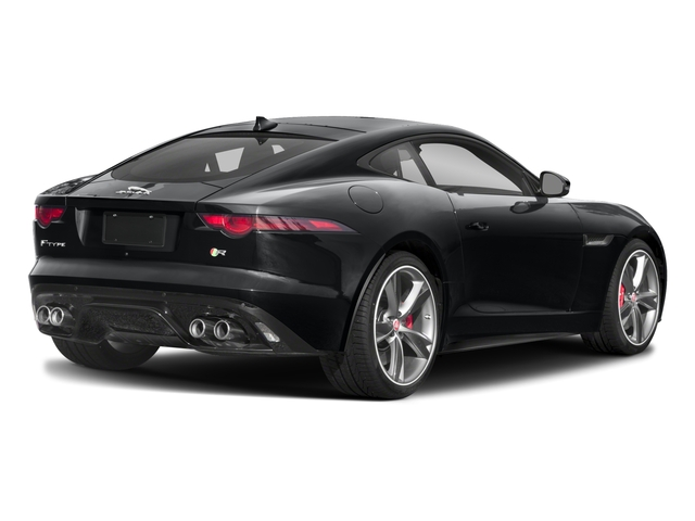 2018 Jaguar F-TYPE Pictures F-TYPE Coupe Auto R-Dynamic AWD photos side rear view