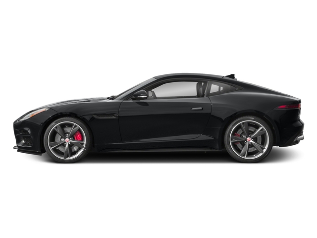 2018 Jaguar F-TYPE Pictures F-TYPE Coupe Auto R-Dynamic photos side view