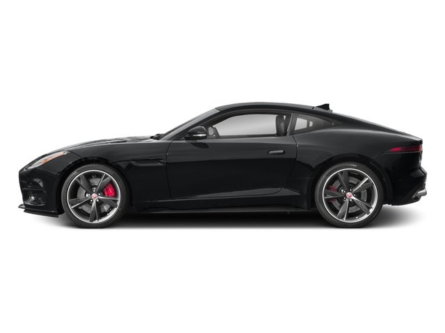2018 Jaguar F-TYPE Pictures F-TYPE Coupe Auto R-Dynamic AWD photos side view