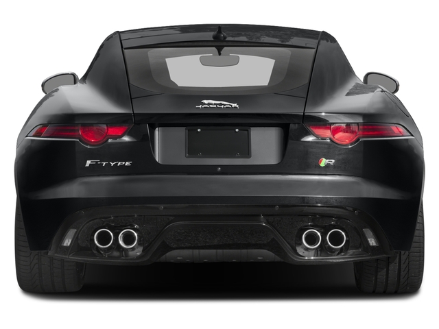 2018 Jaguar F-TYPE Pictures F-TYPE Coupe Auto R-Dynamic AWD photos rear view
