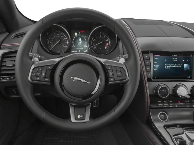2018 Jaguar F-TYPE Base Price Coupe Auto R-Dynamic Pricing driver's dashboard