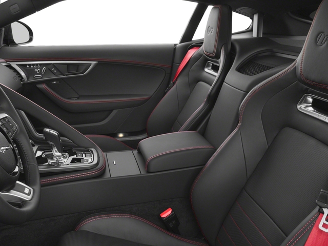 2018 Jaguar F-TYPE Pictures F-TYPE Coupe Auto R-Dynamic AWD photos front seat interior