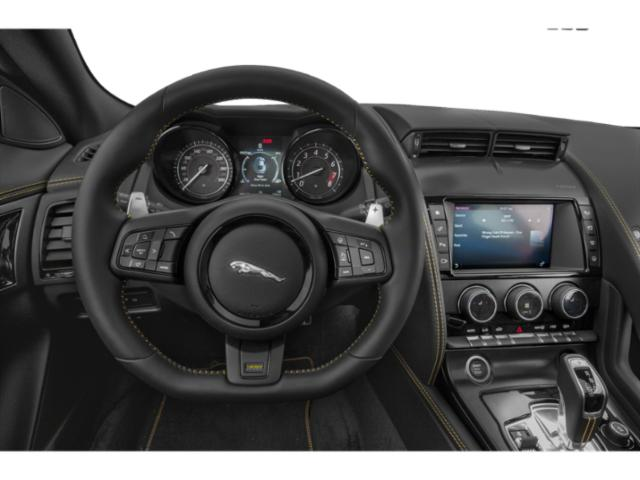 2018 Jaguar F-TYPE Pictures F-TYPE Convertible Auto 380HP AWD photos driver's dashboard