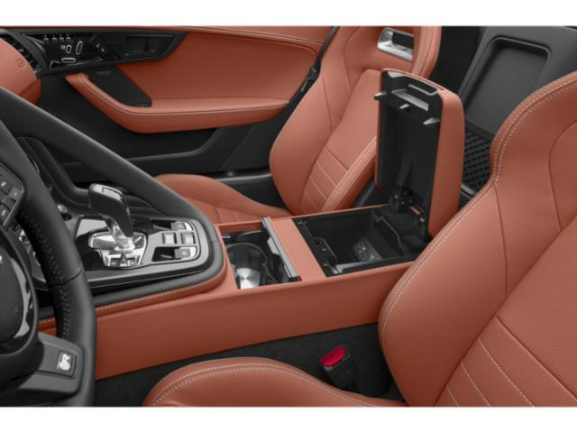 2018 Jaguar F-TYPE Pictures F-TYPE Convertible Auto 380HP AWD photos center storage console