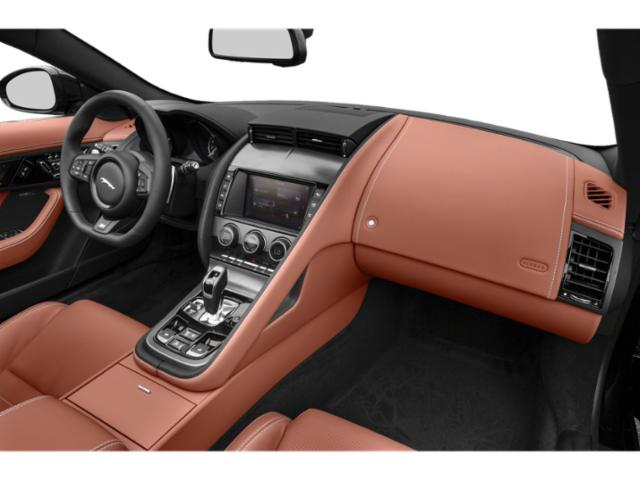 2018 Jaguar F-TYPE Base Price Coupe Auto SVR AWD Pricing passenger's dashboard