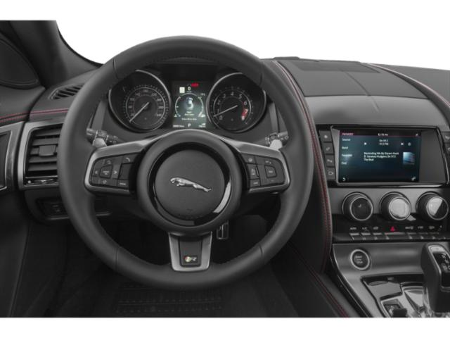 2018 Jaguar F-TYPE Base Price Coupe Auto SVR AWD Pricing driver's dashboard