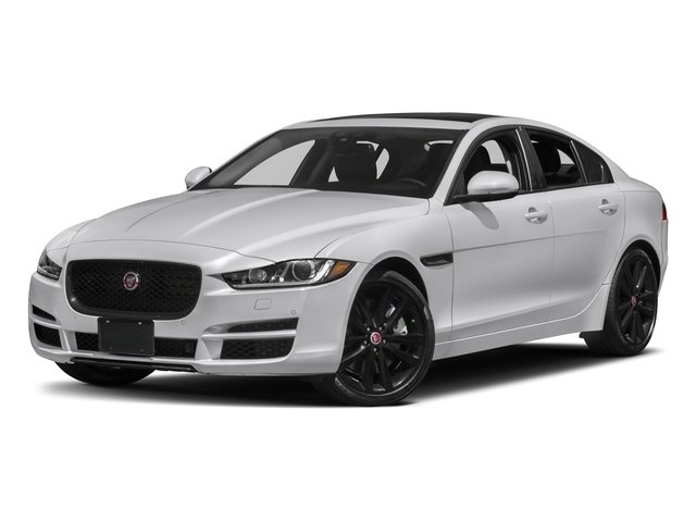 2018 Jaguar XE Base Price 25t AWD Pricing side front view