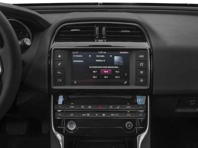 2018 Jaguar XE Base Price 25t AWD Pricing stereo system