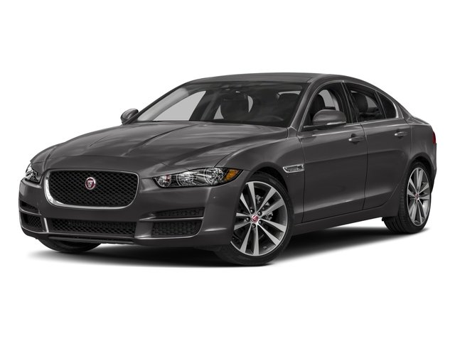 2018 Jaguar XE Pictures XE 20d Prestige AWD photos side front view