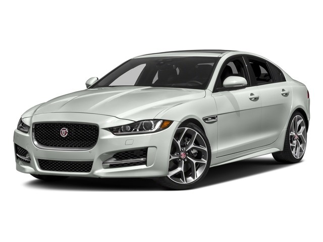 2018 Jaguar XE Base Price 35t R-Sport RWD *Ltd Avail* Pricing side front view