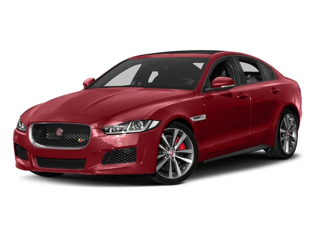 2018 Jaguar XE Pictures XE S AWD photos side front view