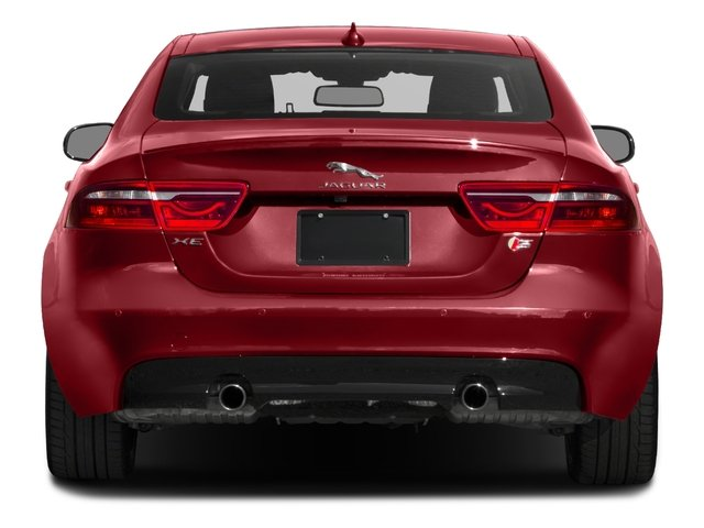 2018 Jaguar XE Base Price S RWD Pricing rear view