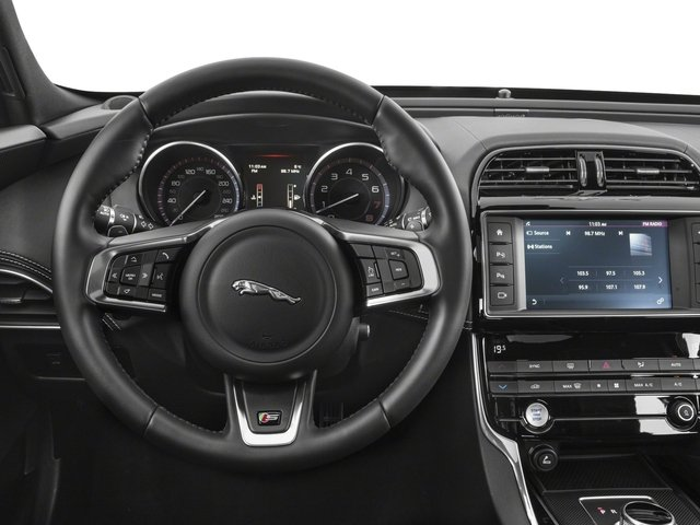 2018 Jaguar XE Base Price S AWD Pricing driver's dashboard