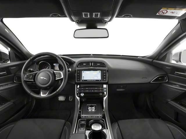 2018 Jaguar XE Pictures XE S AWD photos full dashboard