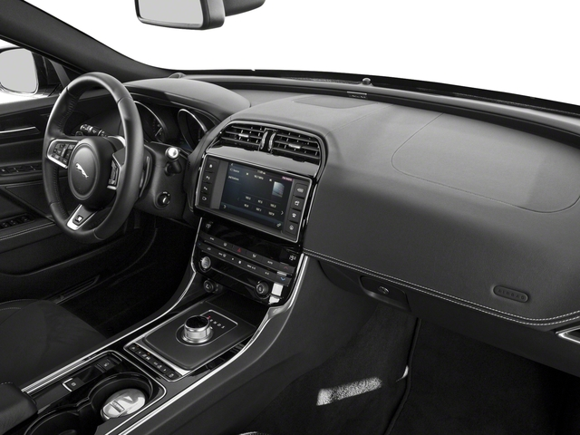2018 Jaguar XE Base Price S RWD Pricing passenger's dashboard