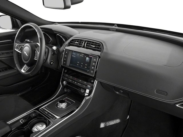 2018 Jaguar XE Base Price S AWD Pricing passenger's dashboard