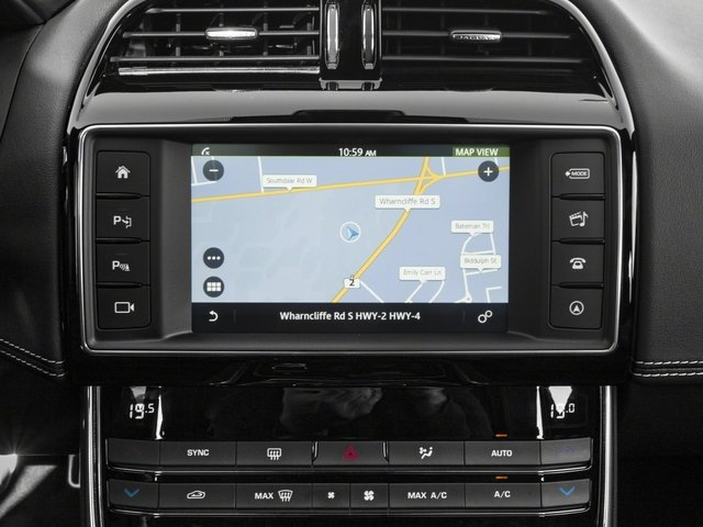 2018 Jaguar XE Base Price S AWD Pricing navigation system