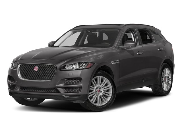 2018 Jaguar F-PACE Pictures F-PACE 20d Prestige AWD photos side front view