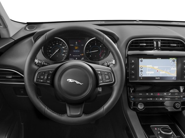 2018 Jaguar F-PACE Pictures F-PACE 20d Prestige AWD photos driver's dashboard