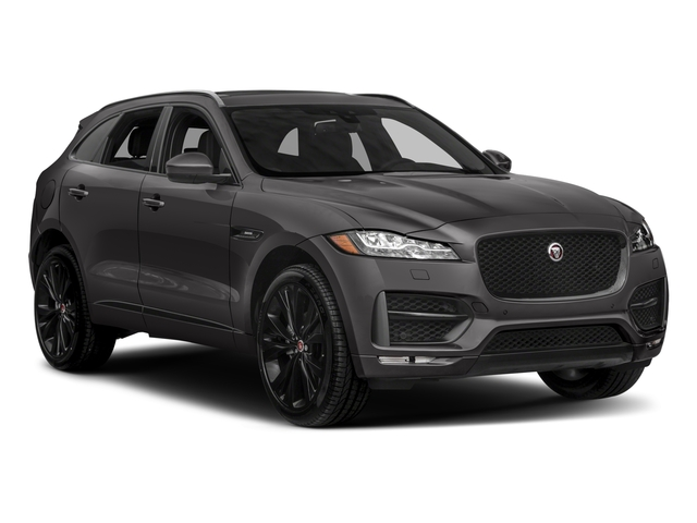 2018 Jaguar F-PACE Prices and Values Utility 4D 20d R-Sport AWD side front view