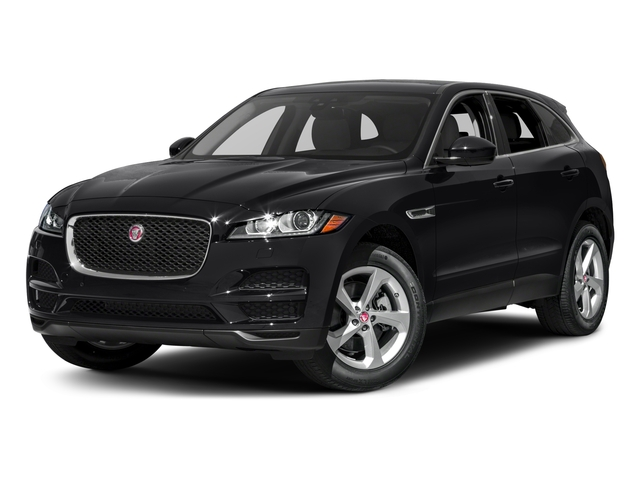 2018 Jaguar F-PACE Pictures F-PACE 35t Portfolio AWD photos side front view