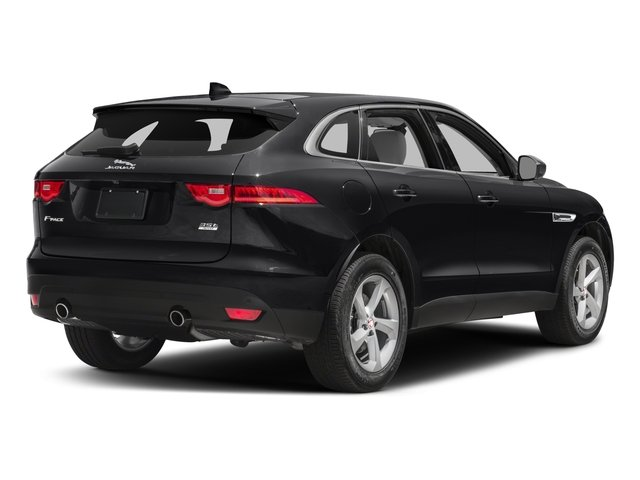 2018 Jaguar F-PACE Pictures F-PACE 35t Portfolio AWD photos side rear view