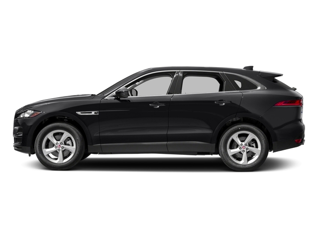 2018 Jaguar F-PACE Pictures F-PACE 35t Portfolio AWD photos side view