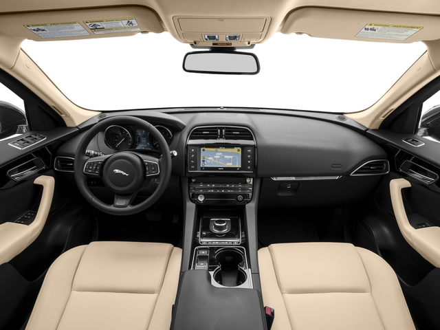 2018 Jaguar F-PACE Pictures F-PACE 35t Portfolio AWD photos full dashboard