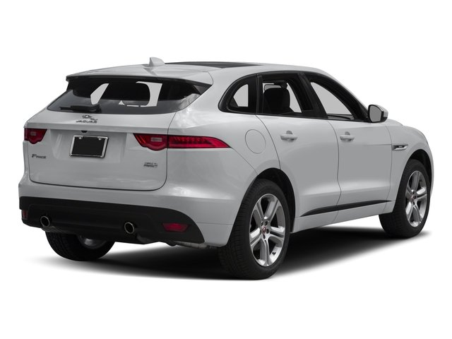 2018 Jaguar F-PACE Base Price 35t R-Sport AWD Pricing side rear view