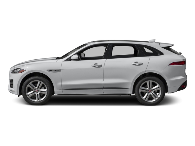 2018 Jaguar F-PACE Base Price 35t R-Sport AWD Pricing side view