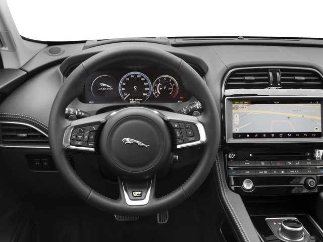 2018 Jaguar F-PACE Base Price 35t R-Sport AWD Pricing driver's dashboard