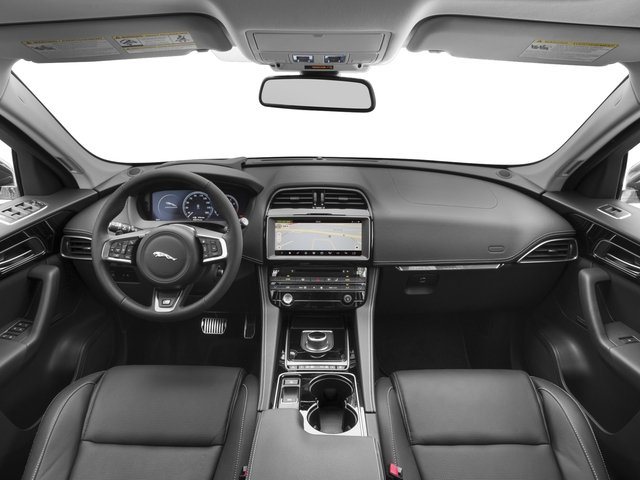 2018 Jaguar F-PACE Base Price 35t R-Sport AWD Pricing full dashboard