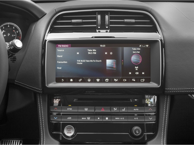 2018 Jaguar F-PACE Base Price 35t R-Sport AWD Pricing stereo system