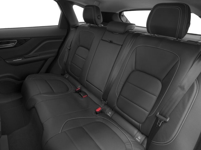 2018 Jaguar F-PACE Pictures F-PACE 35t R-Sport AWD photos backseat interior