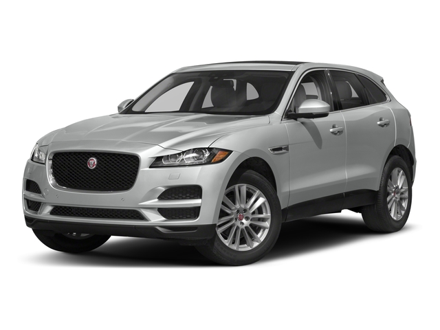 2018 Jaguar F-PACE Pictures F-PACE 25t Premium AWD photos side front view