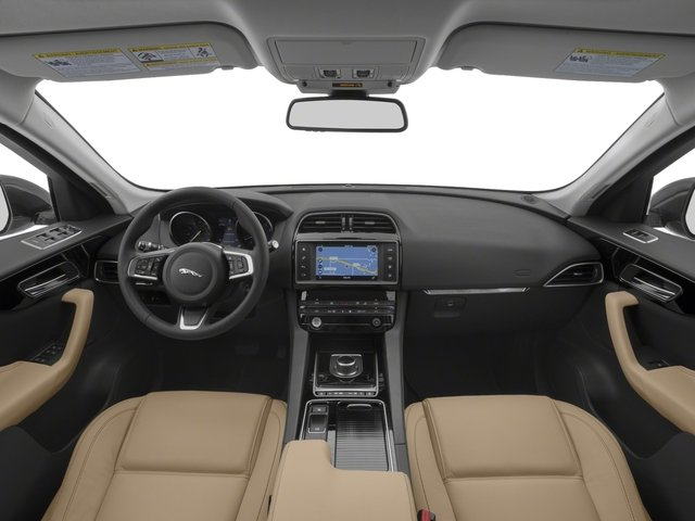 2018 Jaguar F-PACE Pictures F-PACE 25t Premium AWD photos full dashboard