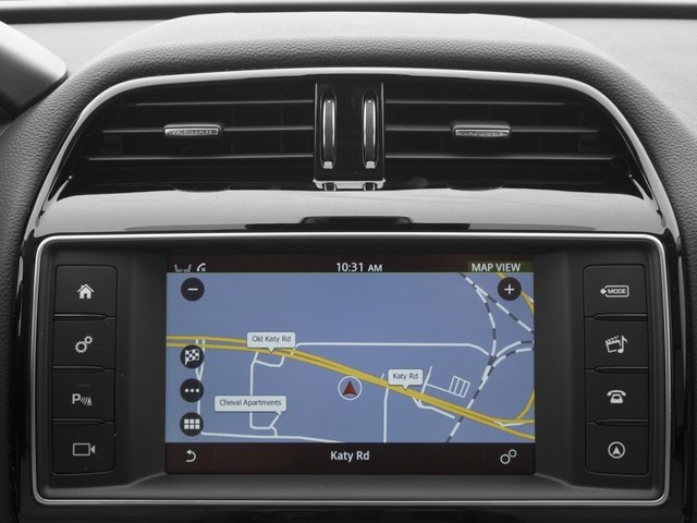 2018 Jaguar F-PACE Pictures F-PACE 25t Premium AWD photos navigation system