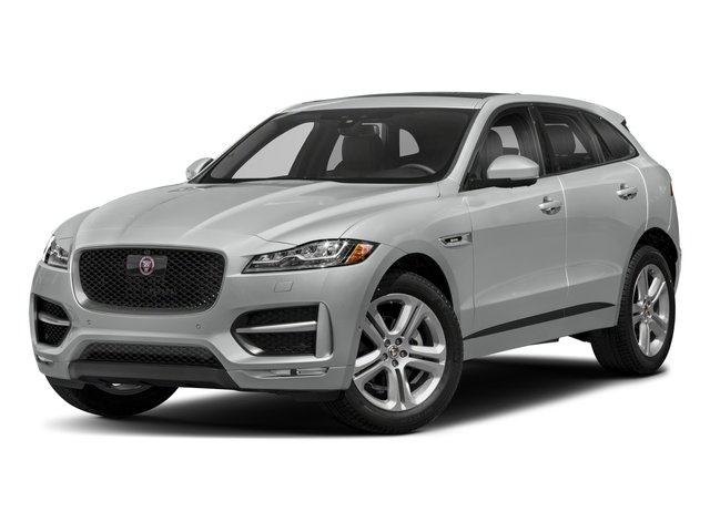 2018 Jaguar F-PACE Base Price 25t R-Sport AWD Pricing side front view