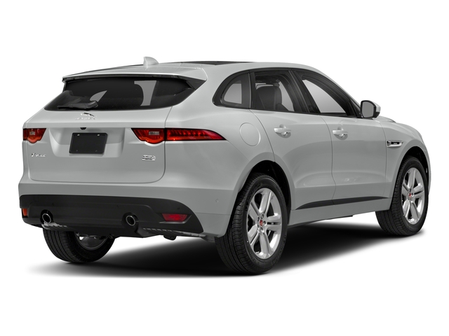 2018 Jaguar F-PACE Base Price 25t R-Sport AWD Pricing side rear view