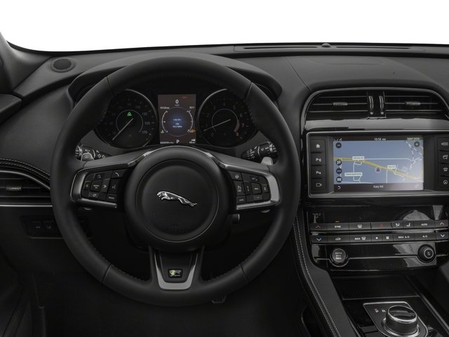 2018 Jaguar F-PACE Base Price 25t R-Sport AWD Pricing driver's dashboard