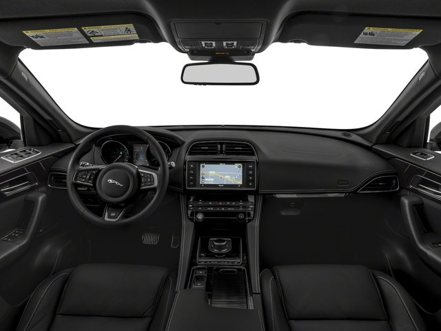 2018 Jaguar F-PACE Pictures F-PACE 25t R-Sport AWD photos full dashboard