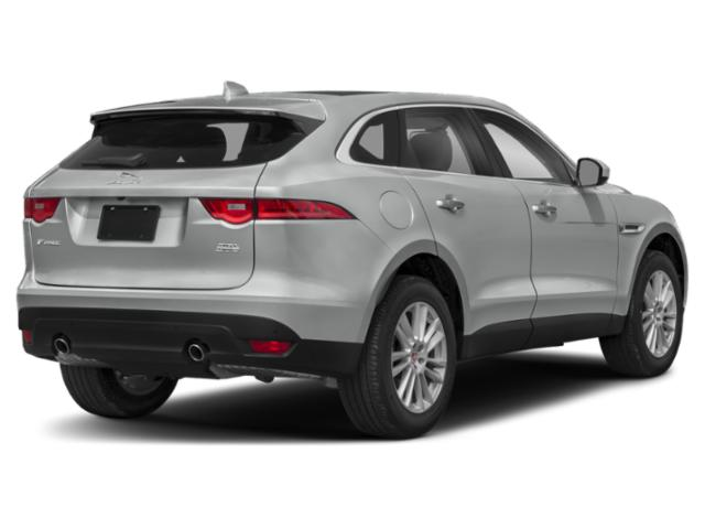 2018 Jaguar F-PACE Pictures F-PACE Utility 4D 25t Premium AWD photos side rear view