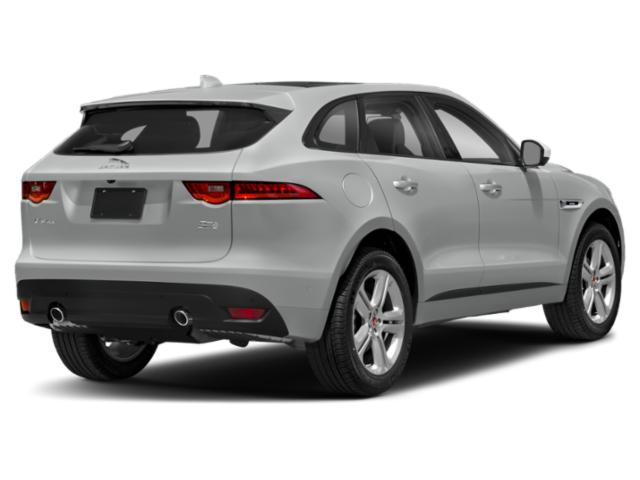 2018 Jaguar F-PACE Pictures F-PACE Utility 4D 30t Portfolio AWD photos side rear view