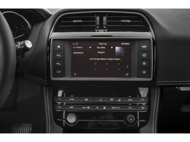 2018 Jaguar F-PACE Base Price 30t Premium AWD Pricing stereo system