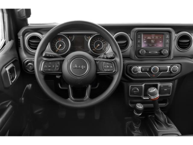 2018 Jeep Wrangler Prices and Values Utility 2D Rubicon 4WD V6 driver's dashboard
