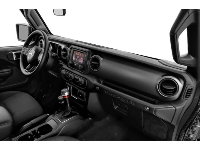 2018 Jeep Wrangler Prices and Values Utility 2D Rubicon 4WD V6 passenger's dashboard