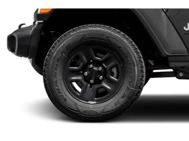 2018 Jeep Wrangler Prices and Values Utility 2D Rubicon 4WD V6 wheel