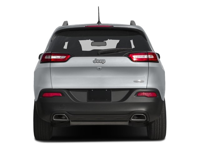 2018 Jeep Cherokee Base Price Latitude Tech Connect FWD Pricing rear view