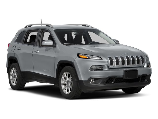 2018 Jeep Cherokee Prices and Values Utility 4D Latitude 2WD side front view